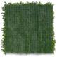 Mur végétal artificiel Liseron (Fleurs blanches) - Verso
