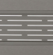 Azur - Lame aluminium - Gris 7039