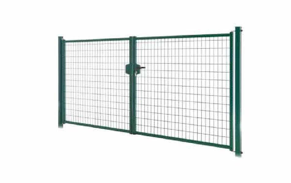 Porte de jardin Grace - Gris 7016