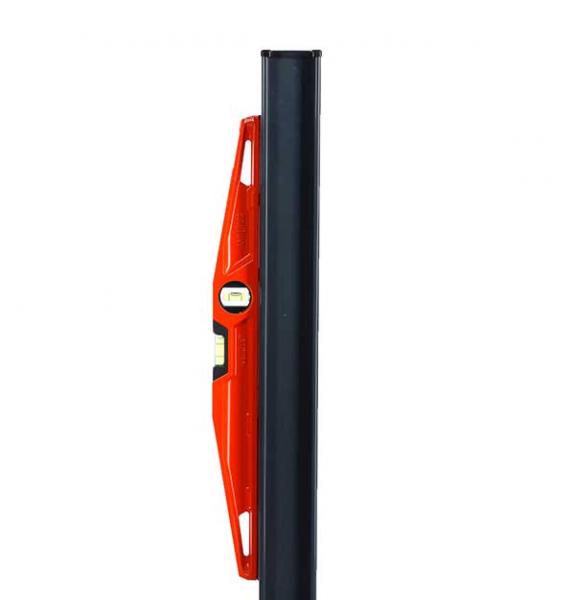 Niveau trapézoidal Fat Max semelle aimantée 50 cm - Côté Clôture