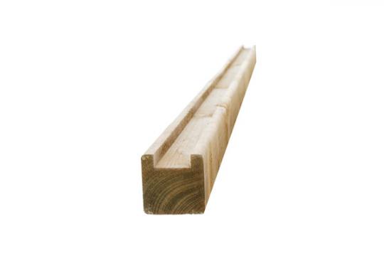 Poteau bois Extra départ - L 2m70