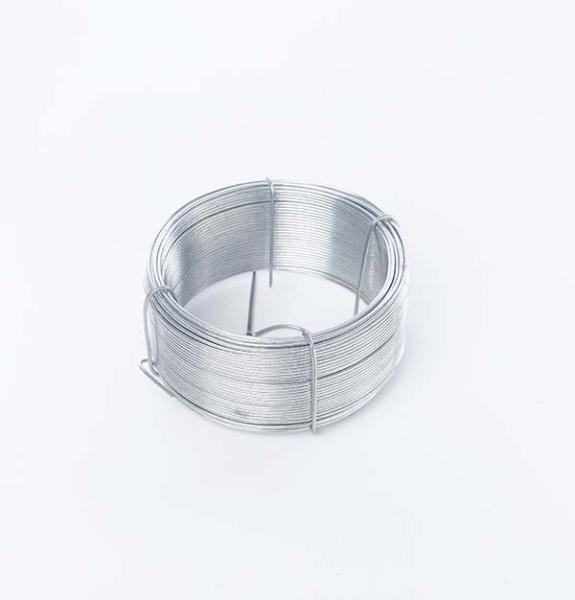 Bobinot de Bricolage Ø 1.3 mm x 50 ml - galvanisé