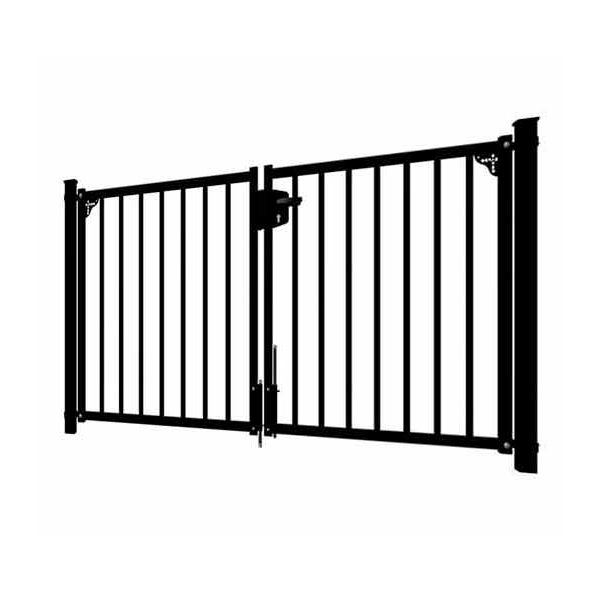 Portail Bardo - Noir 9005