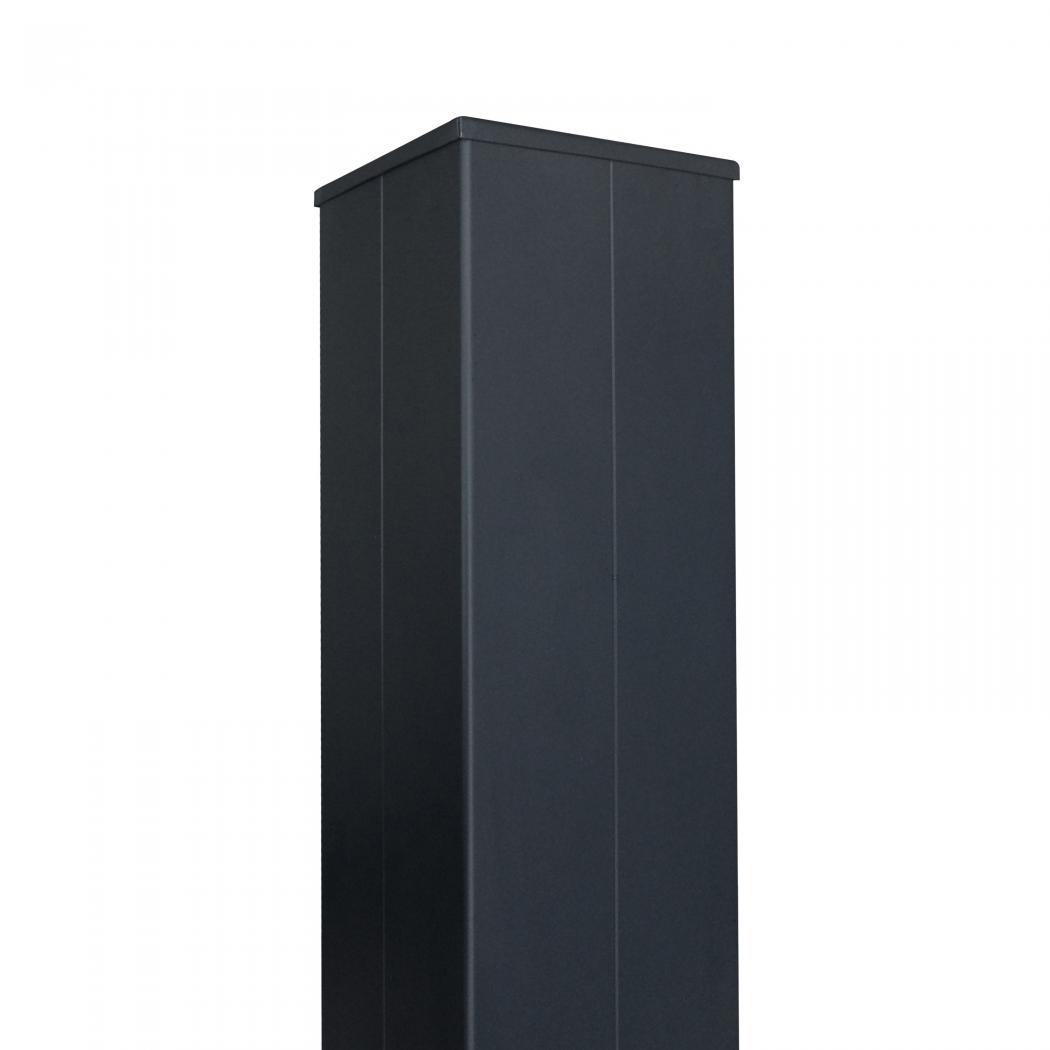 Poteau aluminium 200 x 200