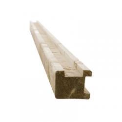 Poteau bois Extra angle - L 2m70