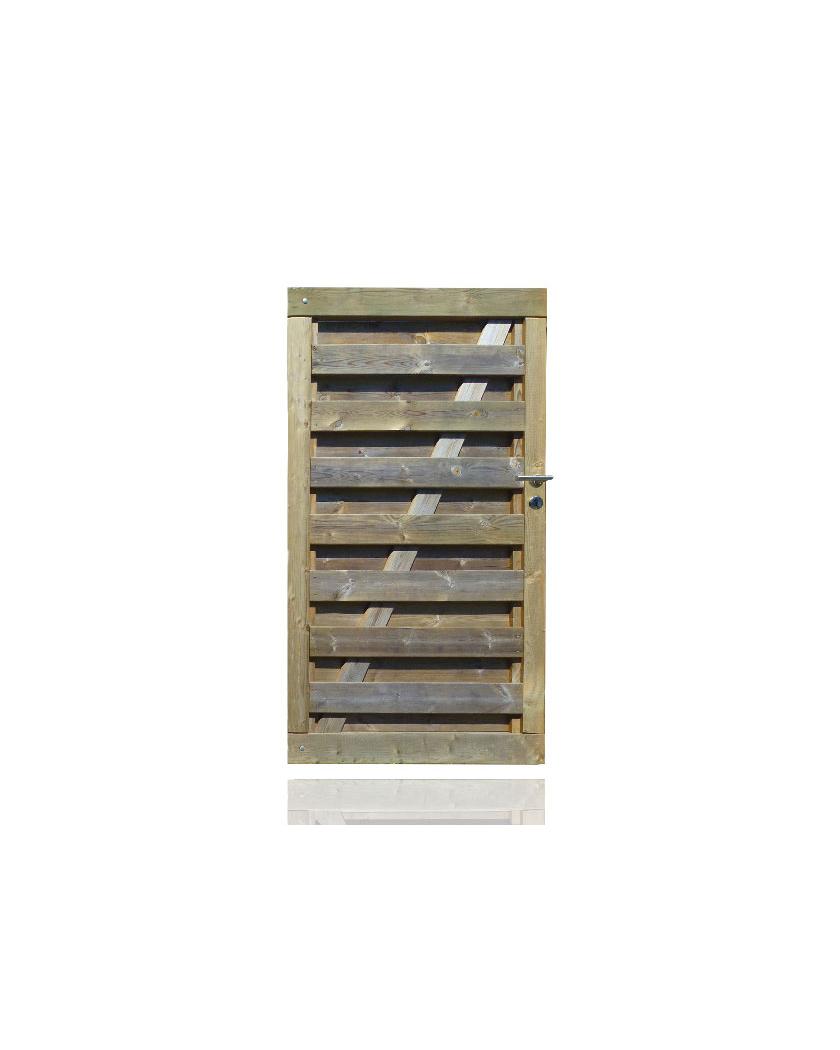 Portillon bois Extra - H1m80 x P1m00