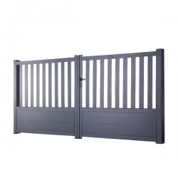 Portail Aluminium Michigan H 1m45 - P 3m