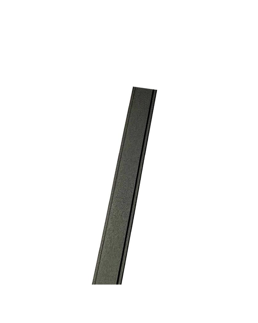 Glissière pour poteau aluminium