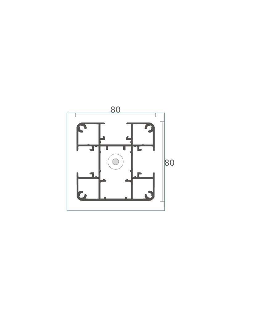 Schéma du poteau Elyte