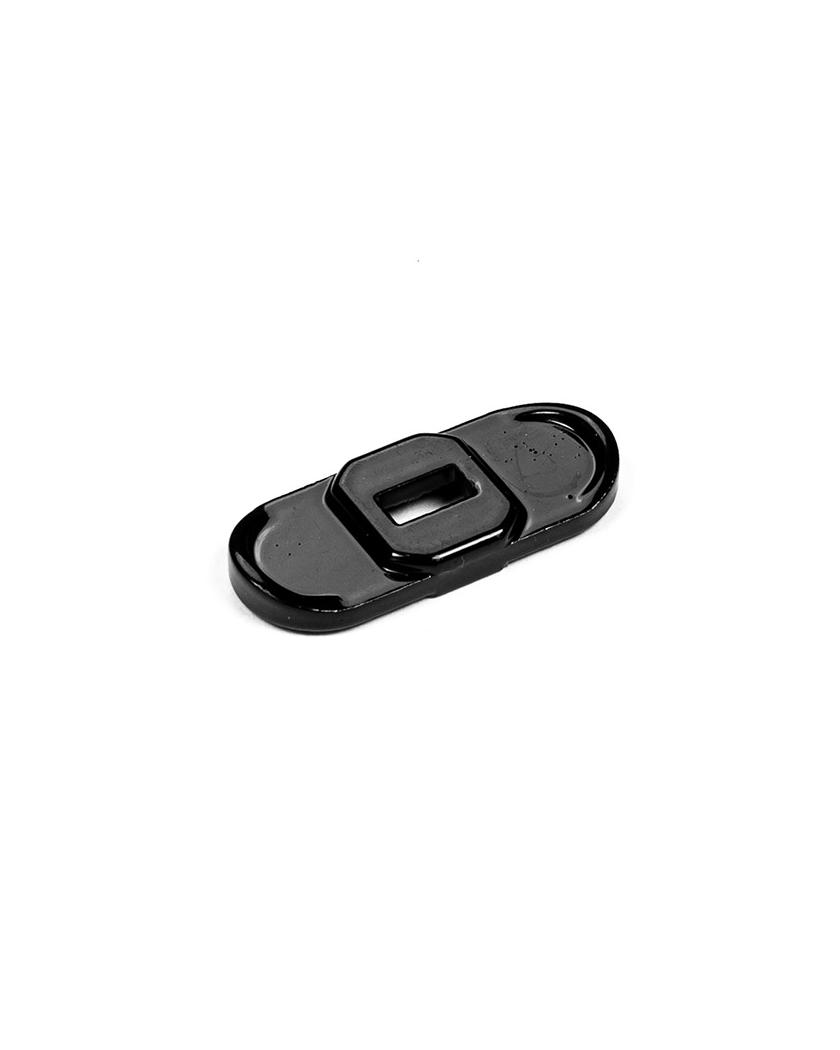 Contre-clip de fixation poteau renforcé Wiclip - Noir 9005