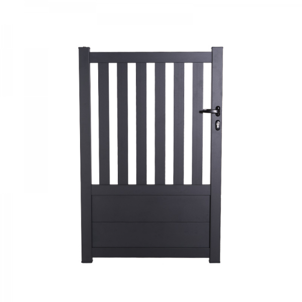 Porte de jardin aluminium ajouré